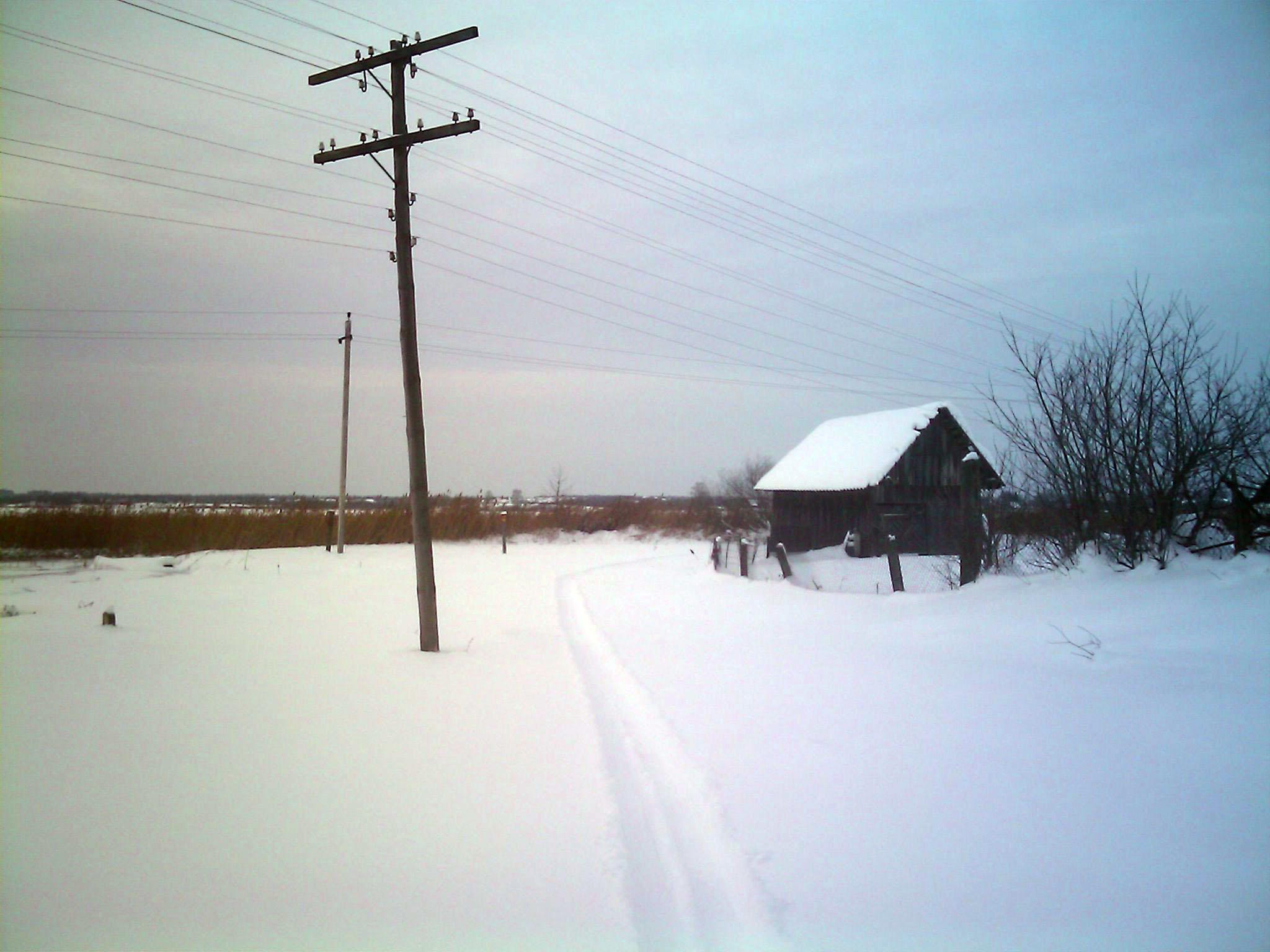 лыжня  Деревня