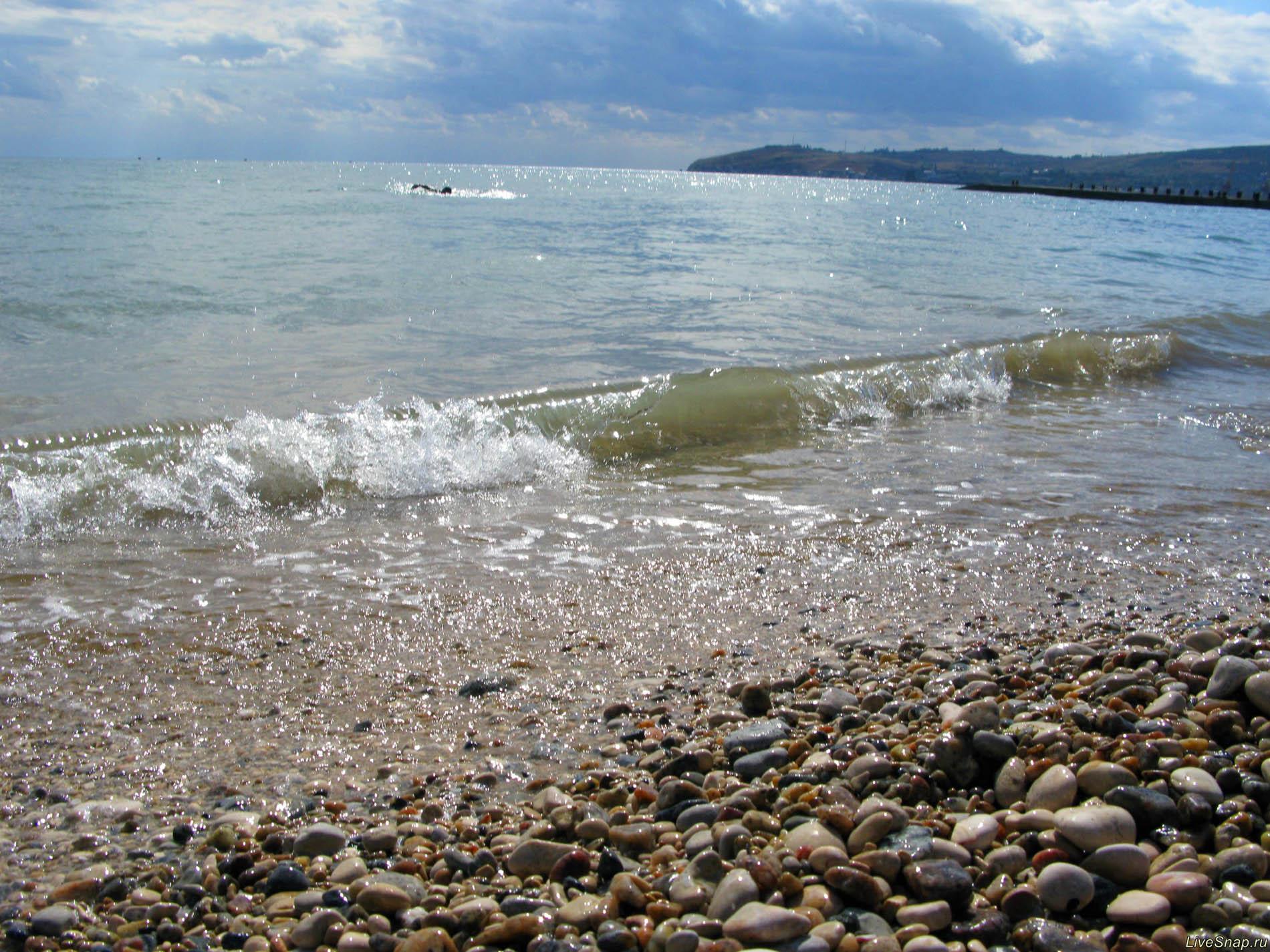 блеск моря  Природа
