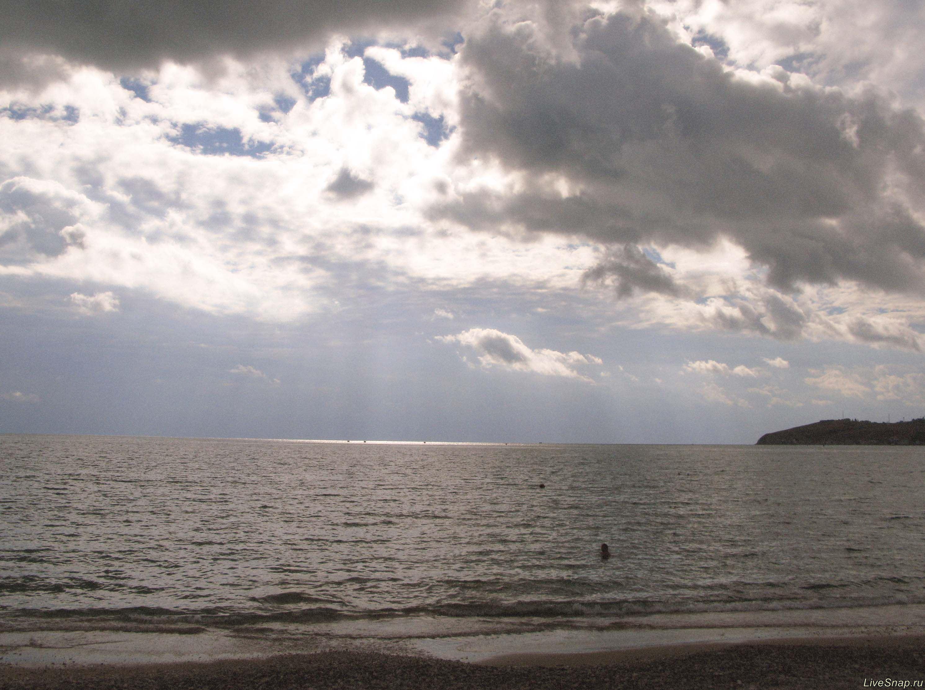 морской пейзаж  Природа