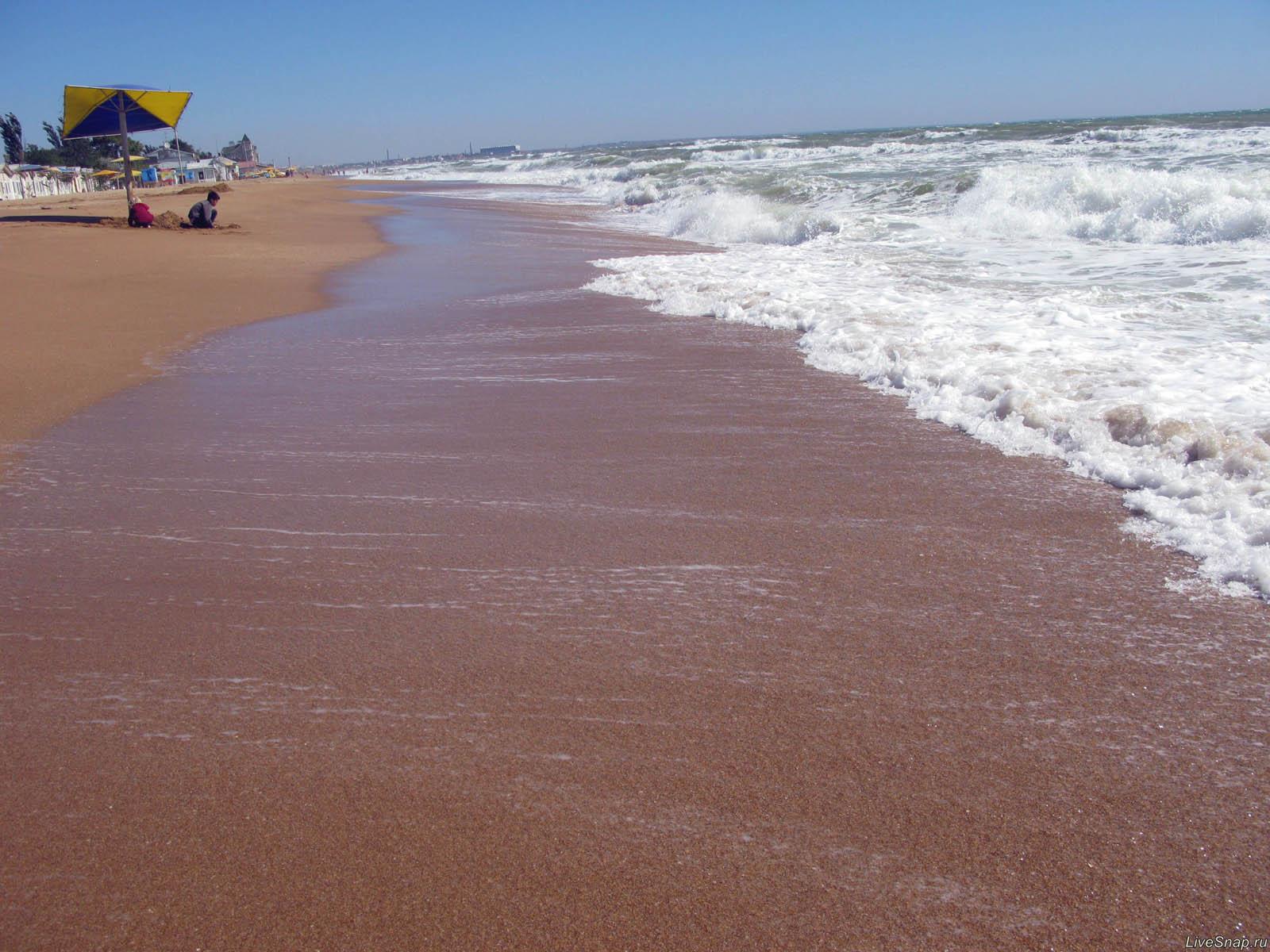 пляж  Природа