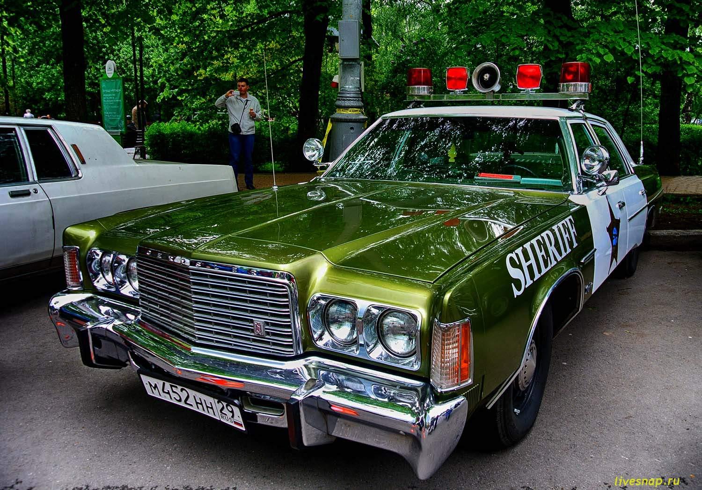 авто ретро шерифы для фс