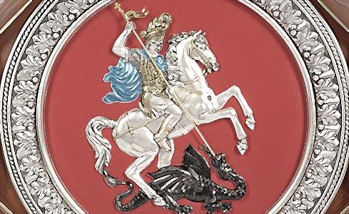 георгий победоносец на гербе россии