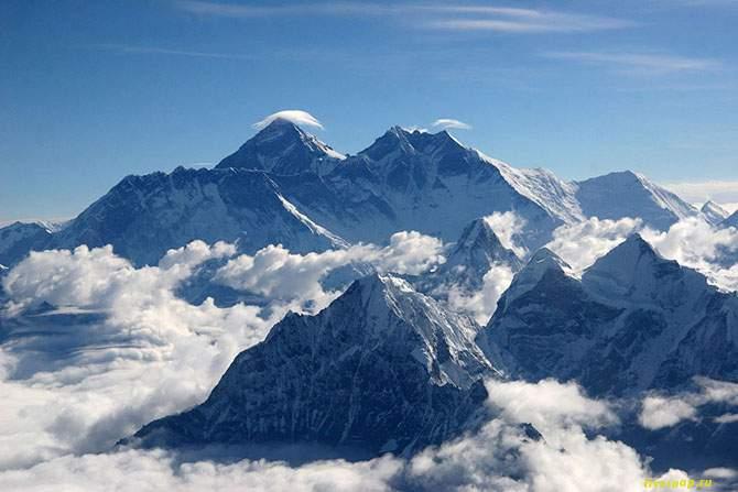 Эверест, Непал/Китай