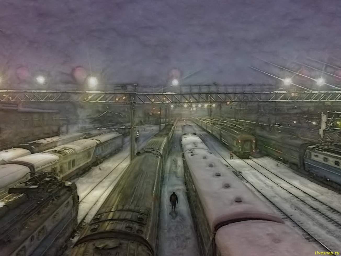Куда уходят поезда?