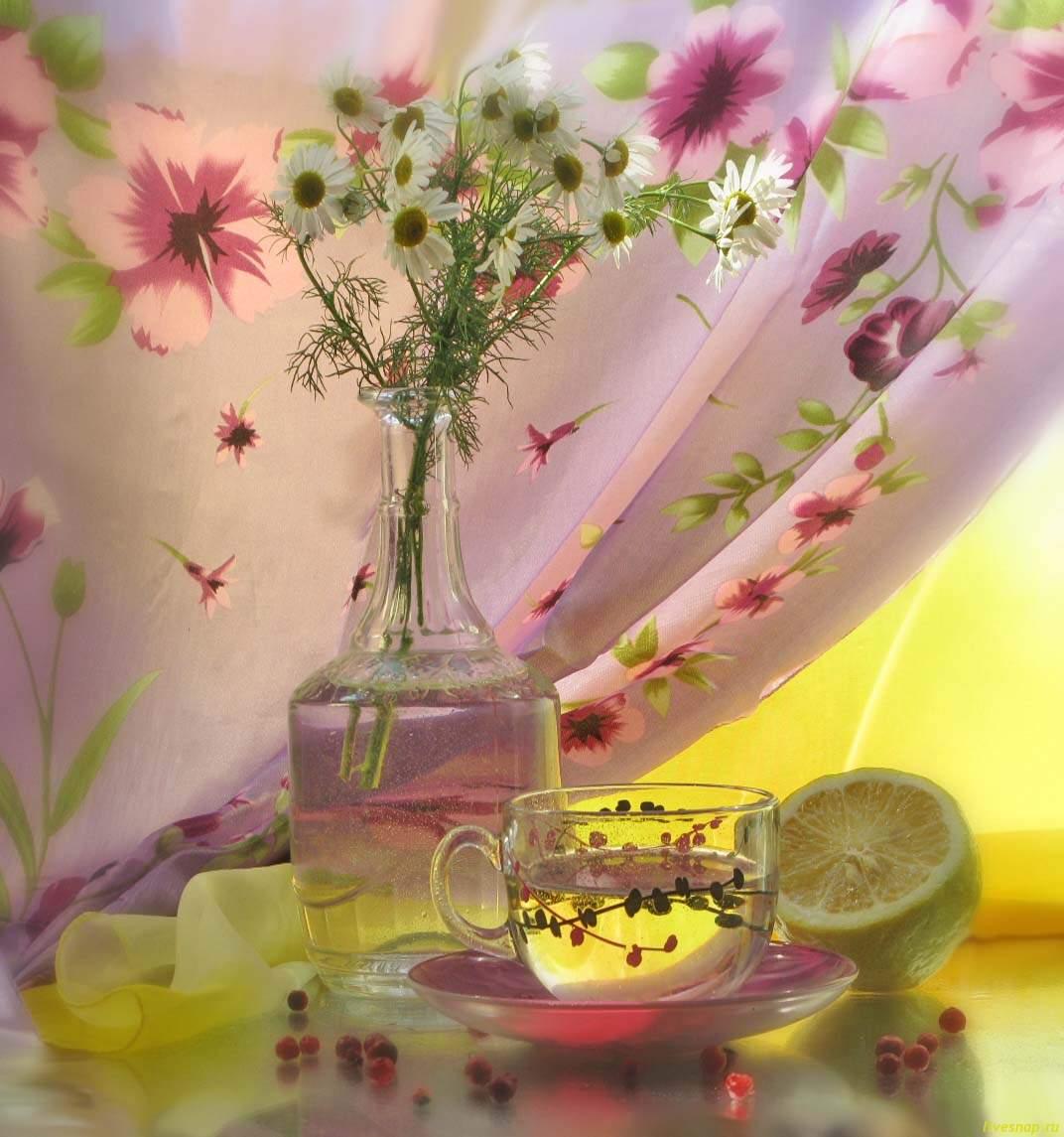 ромашки лимон