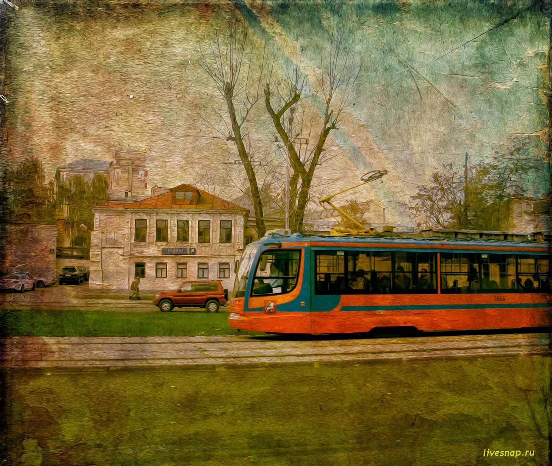 шел трамвай четвертый номер