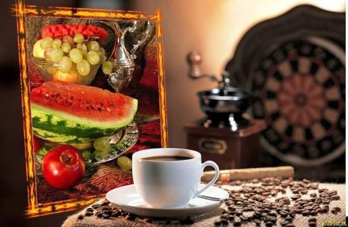 арбуз кофе