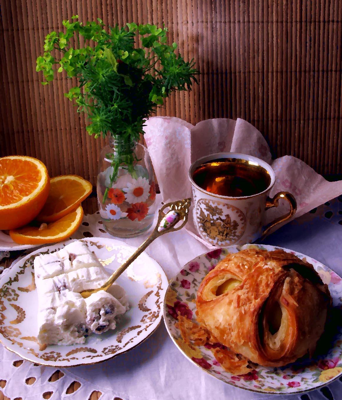 завтрак для тебя  Натюрморты