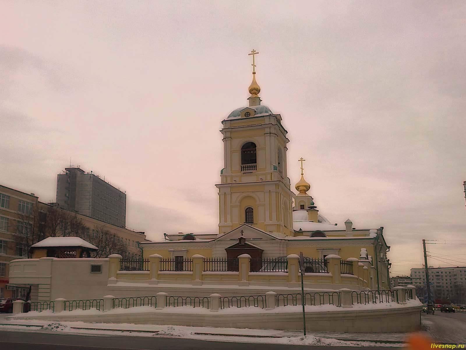Храм Преображения Господня с приделом