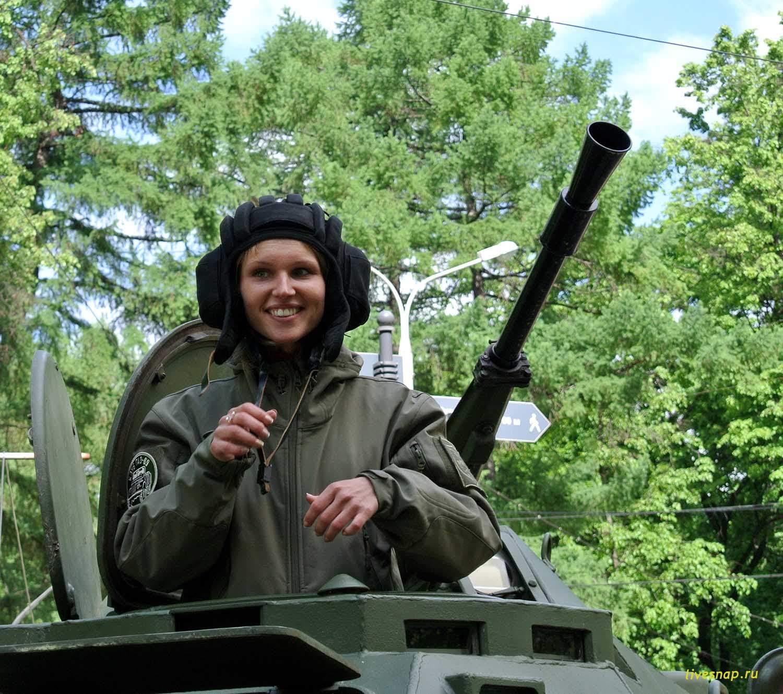 танкистка